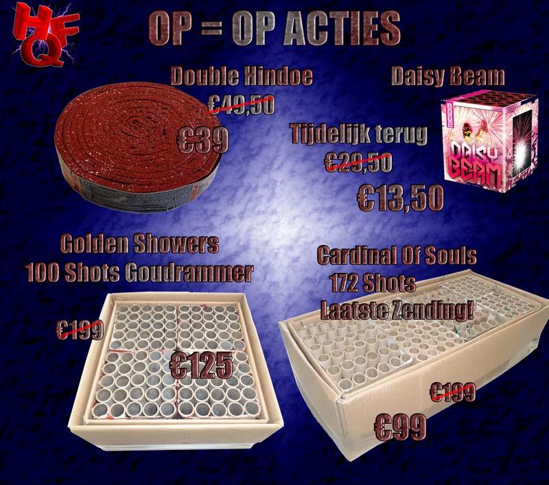 Op = op acties HQFireworks