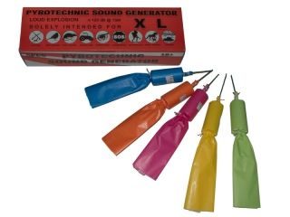 Pyrotechnic Sound Generator